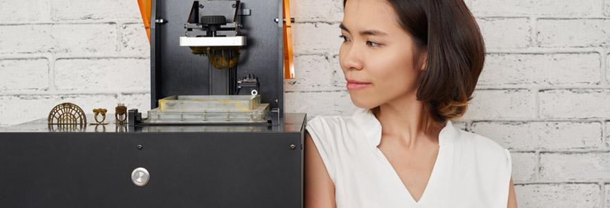 imprimantes 3D en joaillerie